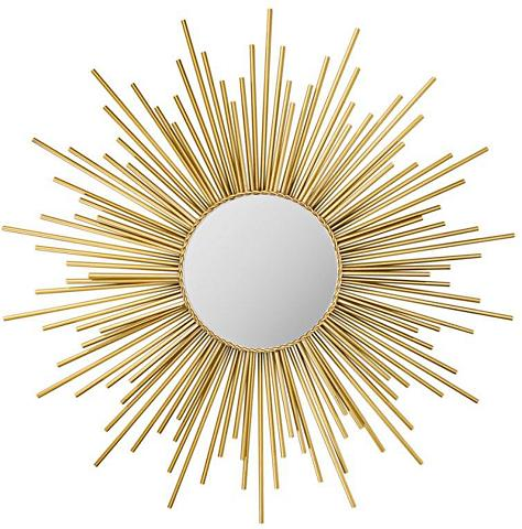 HOME AFFAIRE Veidrodis »Sun« Goldfarben