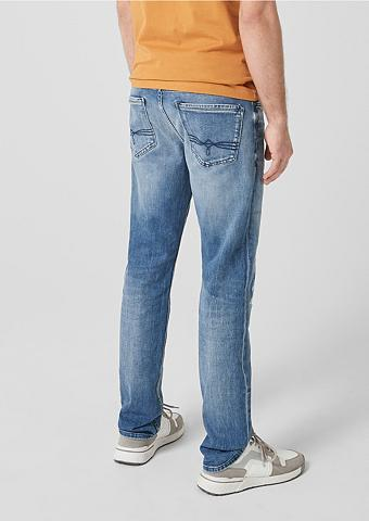S.OLIVER RED LABEL Tubx Regular: Jeans im Used-Look