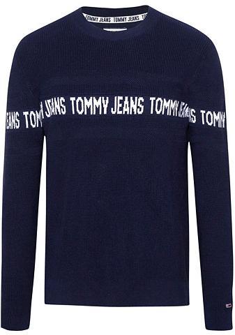 TOMMY JEANS TOMMY Džinsai Megztinis apvalia iškirp...