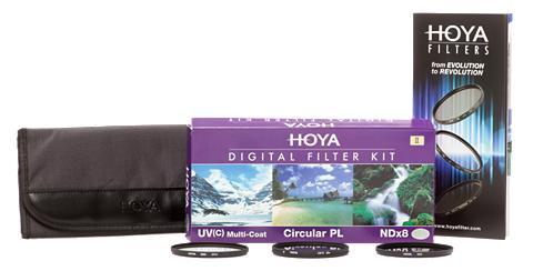 HOYA Filtrų rinkinys »Digital filtras Kit I...
