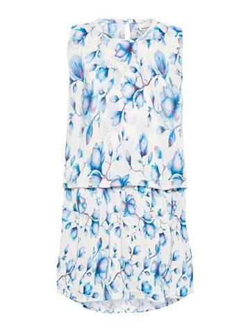 NAME IT Gėlių raštu Plisuotos žaliuzės suknelė...