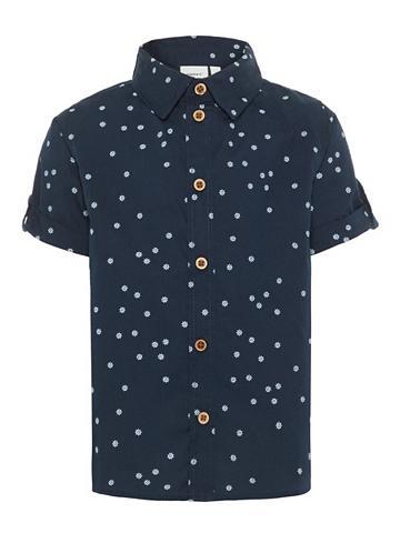 NAME IT Trumpomis rankovėmis Marškiniai