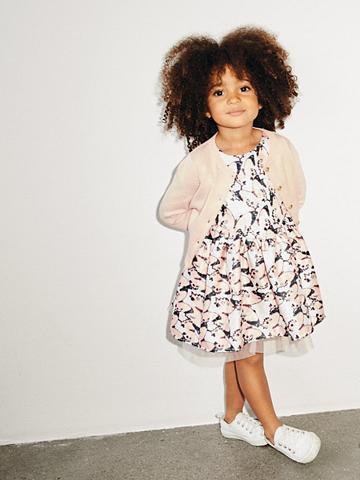 NAME IT Schmetterlingsprint žakardas suknelė