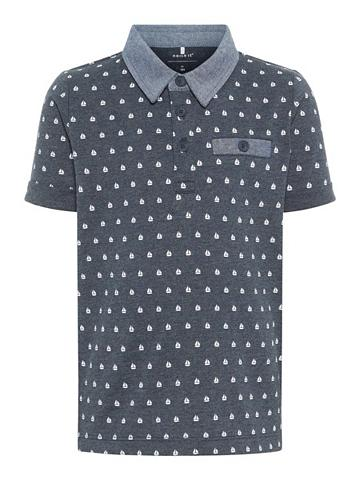 NAME IT Bootprint Polo marškinėliai