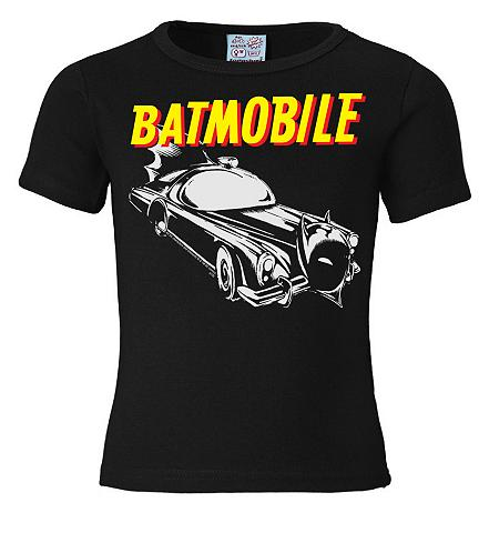 LOGOSHIRT Marškinėliai su Batman-Frontprint