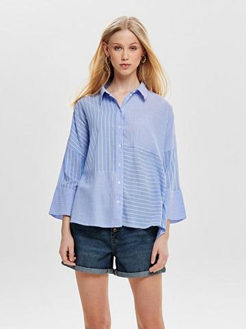 ONLY Dryžuota marškiniai ilgomis rankovėmis...