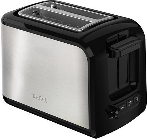 Tefal Toaster TT411D Express Edelstahl 2 kur...