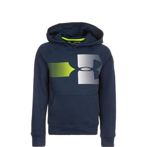 UNDER ARMOUR ® megztinis su gobtuvu »Rival Logo«