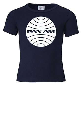 LOGOSHIRT Marškinėliai su Pan Am-Logodruck