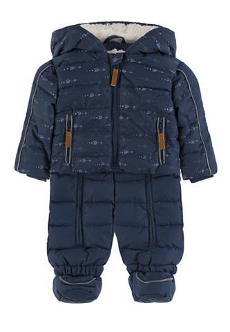 KANZ Žieminis kostiumas su gobtuvas