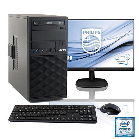 HYRICAN Procesorius PC i5-8400 + 61 cm (24