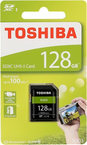 TOSHIBA Atminties kortelė »SDXC plokštė N203 1...