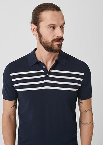 S.OLIVER BLACK LABEL Polo marškinėliai su Streifen