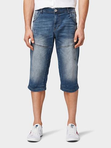 TOM TAILOR 3/4 ilgio džinsai »Max Šortai-bermudai...