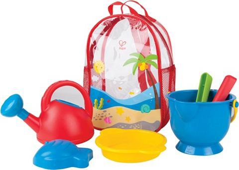 HAPE Smėlio žaislų rinkinys su kuprinė »Str...