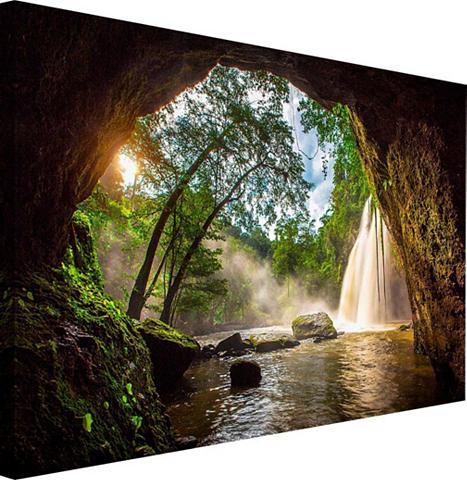 Paveikslas »Steinhöhle« 118/70 cm