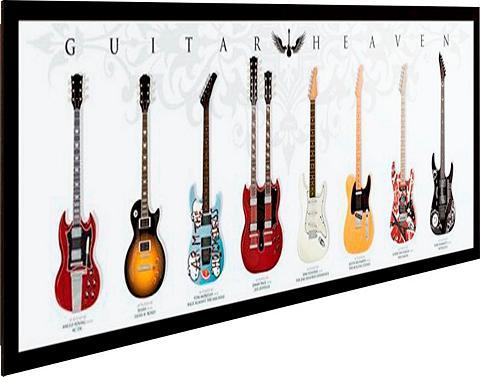 Paveikslas »Gitarren Himmel« 90/30 cm