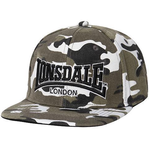 LONSDALE Kepurė in coolem Tarnmuster