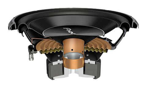PIONEER Auto-Subwoofer »TS-A300S4«