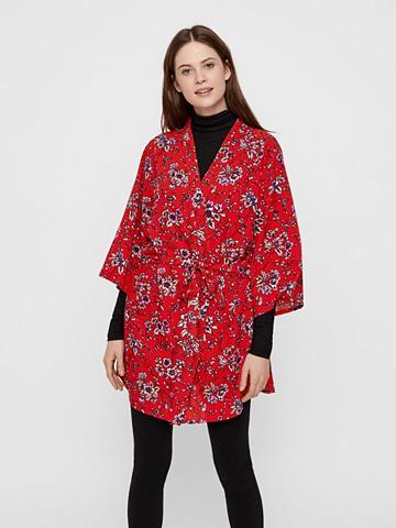 PIECES Raštas kimono