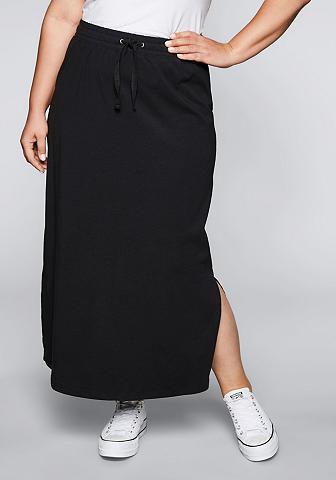 SHEEGO BASIC Sheego Maxi ilgio sijonas