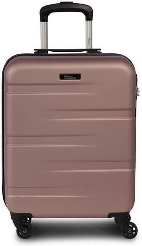FABRIZIO ® Plastikinis lagaminas ant ratukų