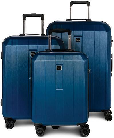 fabrizio ® Trolleyset »Gateway blau« 4 ratukai ...