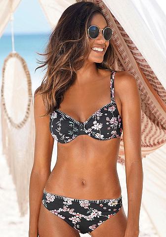 Sunseeker Bikini viršutinė dalis »Ditsy« su Häke...