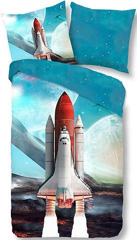 GOOD MORNING Patalynės užvalkalai »Spaceshuttle«