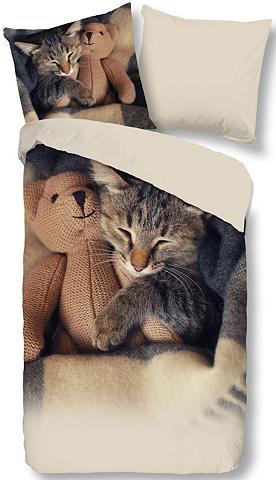 GOOD MORNING Patalynės užvalkalai »Cute Little Cat«...