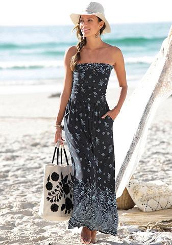 S.OLIVER BEACHWEAR S.Oliver Paplūdimio ilga suknelė