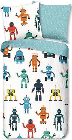 GOOD MORNING Patalynės užvalkalai »Robots«