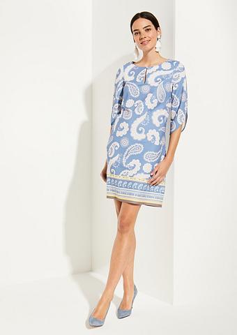 COMMA 3/4 ilgio rankovės suknelė su extravag...