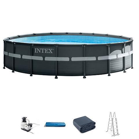 INTEX Rinkinys: Baseinas »Ultra Rondo XTR« 5...