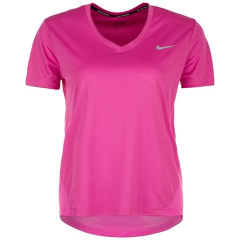 NIKE Sportiniai marškinėliai »Miler V-neck«...
