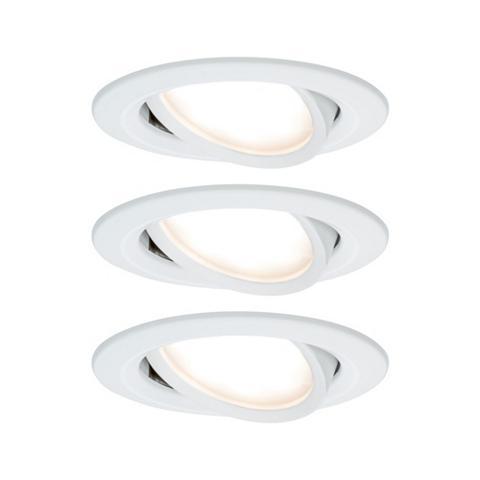 Paulmann LED Einbaustrahler »Nova ovali 3x65W W...