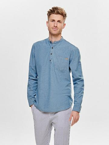 ONLY & SONS ONLY & SONS Džinsai marškiniai ilgomis...
