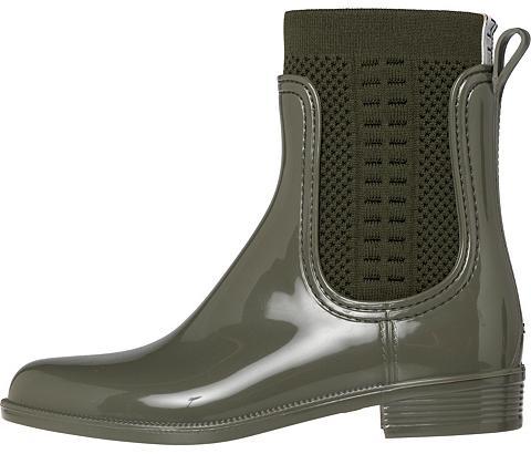 TOMMY HILFIGER Guminiai batai »TOMMY KNIT RAIN BOOT«