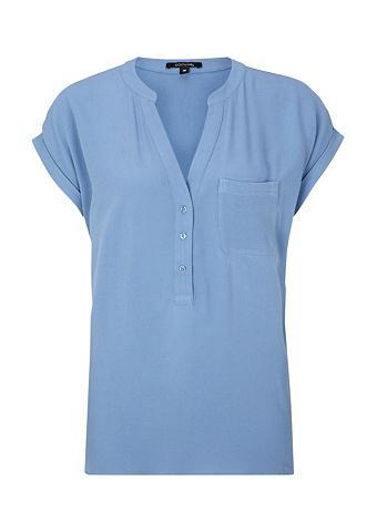 COMMA Marškinėliai trumpomis rankovėmis su u...