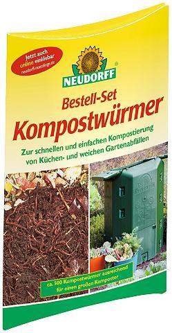 NEUDORFF Kompostwürmer 1 Bestell-Set