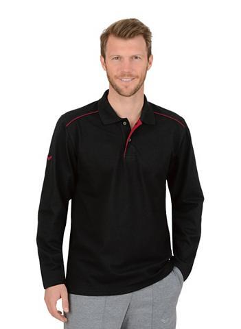 Trigema Langarm Polo marškinėliai iš Biobaumwo...