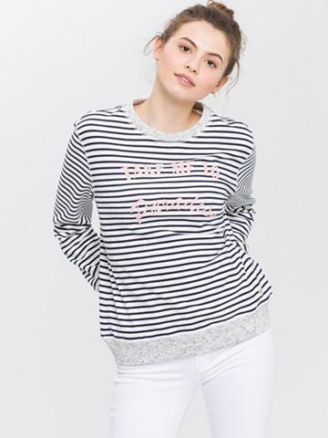CROSS JEANS ® Sportinio stiliaus megztinis »65142«...