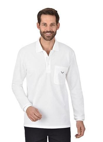 Trigema Langarm Polo marškinėliai iš Baumwolle...