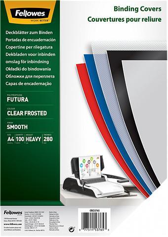 FELLOWES Deckblatt »Futura Deckblatt A4 matt«