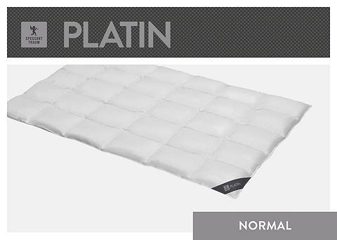 SPESSARTTRAUM Gänsedaunenbettdecke »Platin« normal F...