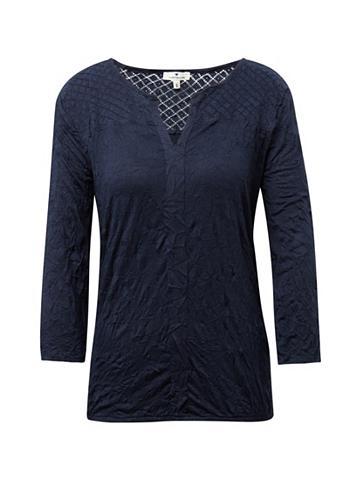 TOM TAILOR 3/4 rankovių ilgio palaidinė Marškinėl...