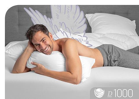 Schlafstil Daunenkissen »D1000« Füllung: 100% Gän...