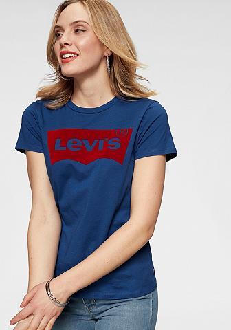LEVI'S ® Marškinėliai »Batwing-Flock«