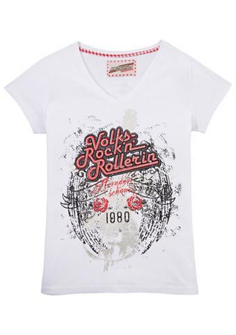 ANDREAS GABALIER KOLLEKTION Marškinėliai Moterims su blizgūs akmen...