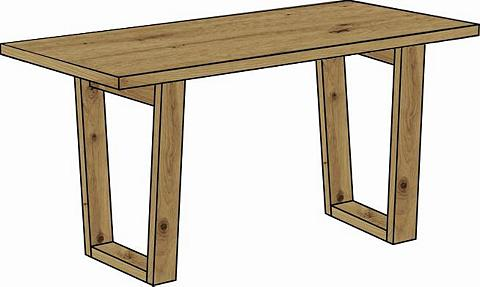 Rašomasis stalas »Frame«